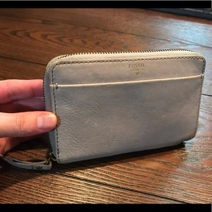 Fossil Leather Wallet